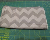 Sale Fabric Sale - 1 Yard - Riley Blake Medium Chevron Gray Tonal - Quilting Cotton Destash