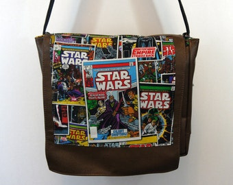 Star Wars Leather Messenger Bag