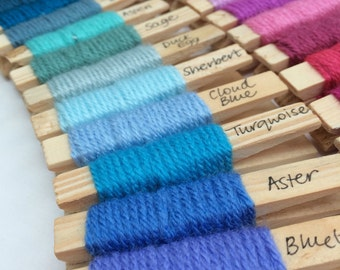 Yarn pegs - set of 85 Stylecraft Special DK *includes 3 new shades released April 2017*