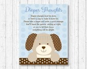 Cute Puppy Diaper Thought...