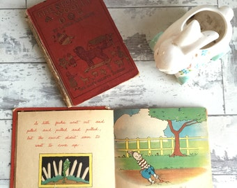 Vintage Children's Books: 1930s - Jackie Rabbit by April Martin and Laura Lee Hope - Wooly Dog