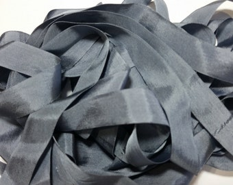 Vintage Dark Grey Seam Binding