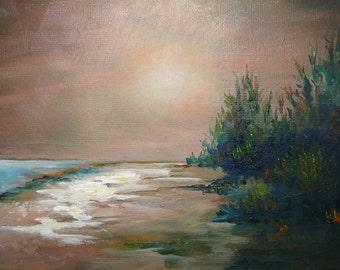 AROUND THE CORNER - Fantasy Landscape - Seascape