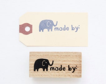 Rubber Stamp - Made By Ellie