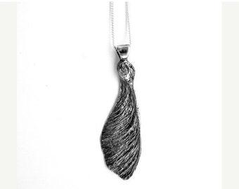 Maple Seed Key Necklace Pendant