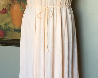 Tosca Lingerie Long Lace Soft Peach Night Gown