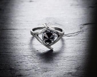 SALE- Black Eye ring