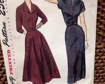 Vintage 60's simplicity pattern dress