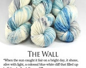 The Wall - First Class MCN - Luxury Game of Thrones Yarn - Luxury Speckled Yarn - Cashmere Speckles - Merino/Nylon/Cashmere, 400 Yards/100g