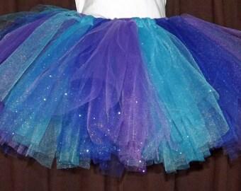 Tutu Tulle Skirt, Tutu Outfit Add-On, Birthday Skirt