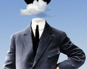 Copyright For Sale: Head In The Clouds - Original Surreal Fantasy Artwork by Kenneth Rougeau - Full Intellectual Property Rights Transfer
