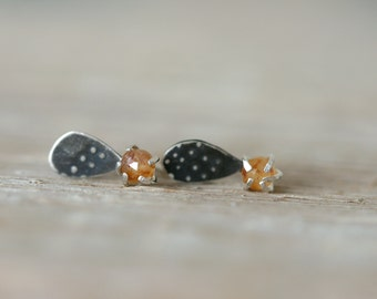 Adventurine Form Studs
