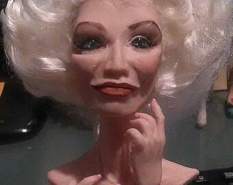 Carmen posable Ooak Art Doll by moninesfaeries