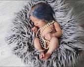Baby Headbands-Newborn Headbands-Newborn Photo Prop-Feather Headband-Gray Feather Headband-Baby Feather Headband-Feather Fascinator-Baby
