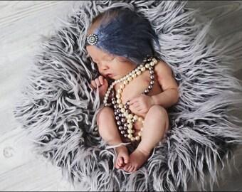 Baby Girls Headbands, Baby Headbands, Baby Hair Bows, Newborn Headbands, Feather Headbands, Silver Headbands, Flapper , Fascinator, Hair bow