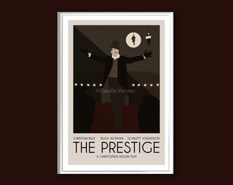 The Prestige poster print in various sizes
