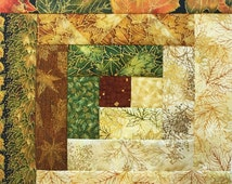 Popular Items For Log Cabin Quilt On Etsy