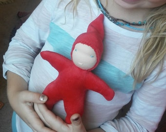 Custom Made Waldorf Star Baby Doll