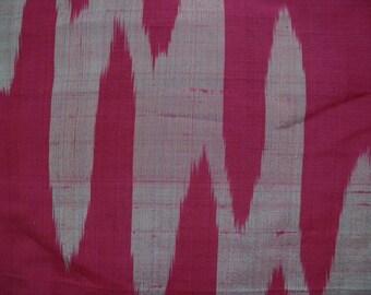 Vintage kimono S23, purple red meisen kimono, silk, awase
