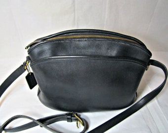 COACH Leather Bag Black leather Anderson shoulder bag Cross body