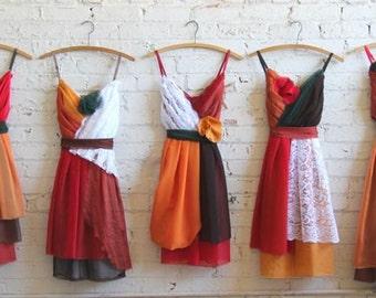 Individual Final Payments for Manuela Perez's Custom Bridesmaids Dresses