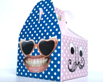 Cute Face Gift Box