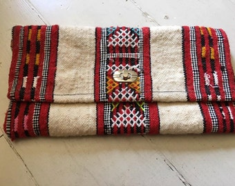 Moroccan Rug Clutch