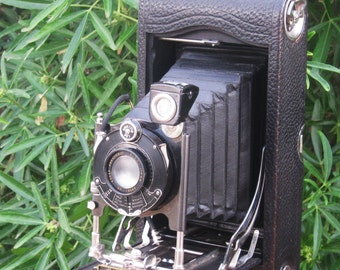 Antique Autographic Kodak No. 3A Model C Junior Folding Camera  1914-1934