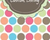 Custom Listing for Suds 'N' Such