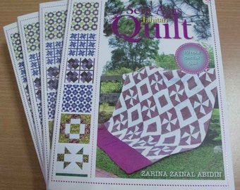 Traditional Quilt Blocks in Malaysian Batik: How To Make Your Own