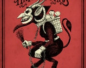Happy Krampus print