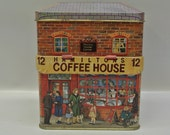 Vintage Coffeehouse tin
