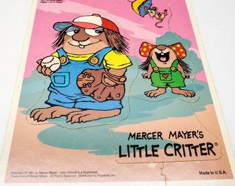 Vintage puzzle - Little Critter