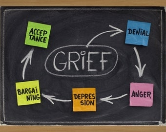 Healing From Grief. Grieving Process and How to Heal