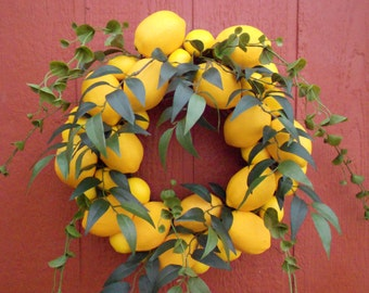 Lemon to Lemon Wreath Junior.....