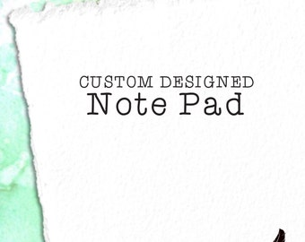 Custom Notepad, 4.25x5.5