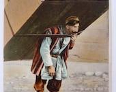 Antique Postcard - Portrait of a Tbilisi Carrier / Removal Man - Georgia / Russian Empire