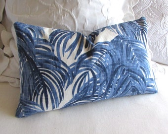 WEDGEWOOD blue 12x20 pillow includes insert