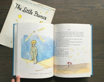 The Little Prince 1971 edition hardcover