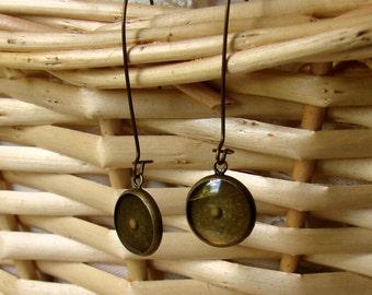 Brass Mustard Seed Earrings - Mustard Seed Earrings - Mustard Seed Dangly Earrings - Mustard Seed Jewelry - Faith Jewelry - Christian Gift