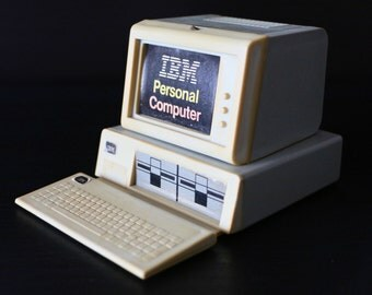 1983 IBM Personal Computer PC 5150 Original Plastic Promotion Model