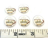 Custom Order - 5 Coffee Buttons