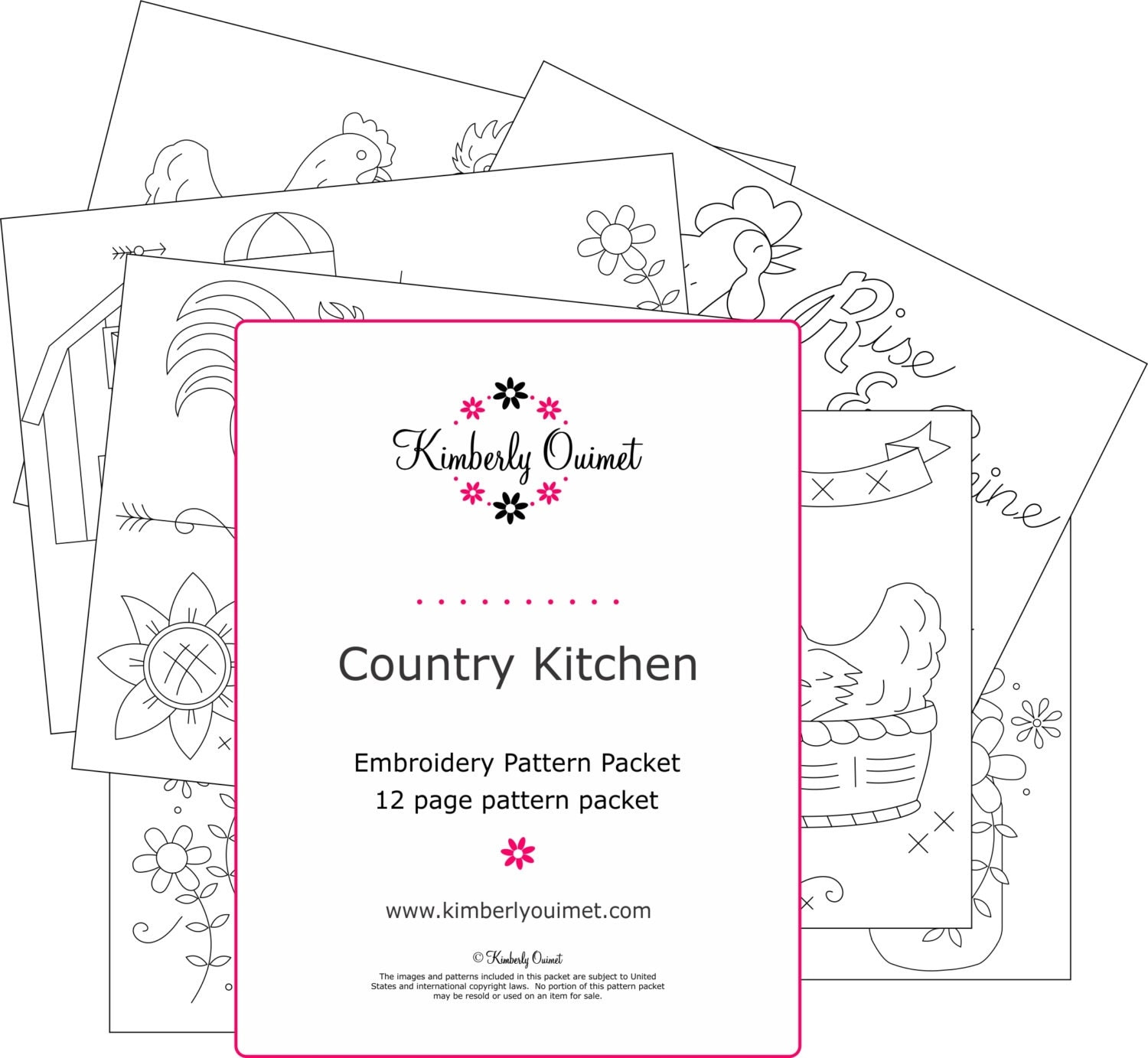 Country Kitchen International Country Kitchen Embroidery Design Farm Kitchen Theme Hand