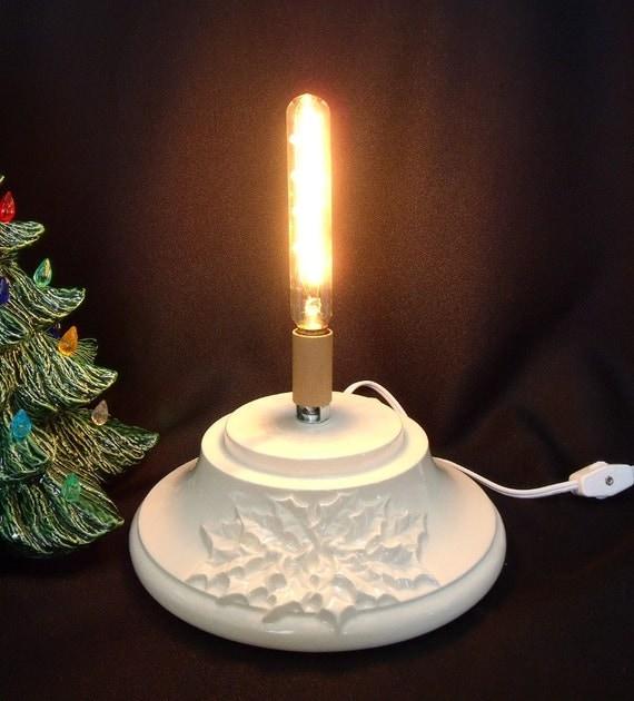 Large Christmas Tree: White Large Ceramic Christmas Tree Base