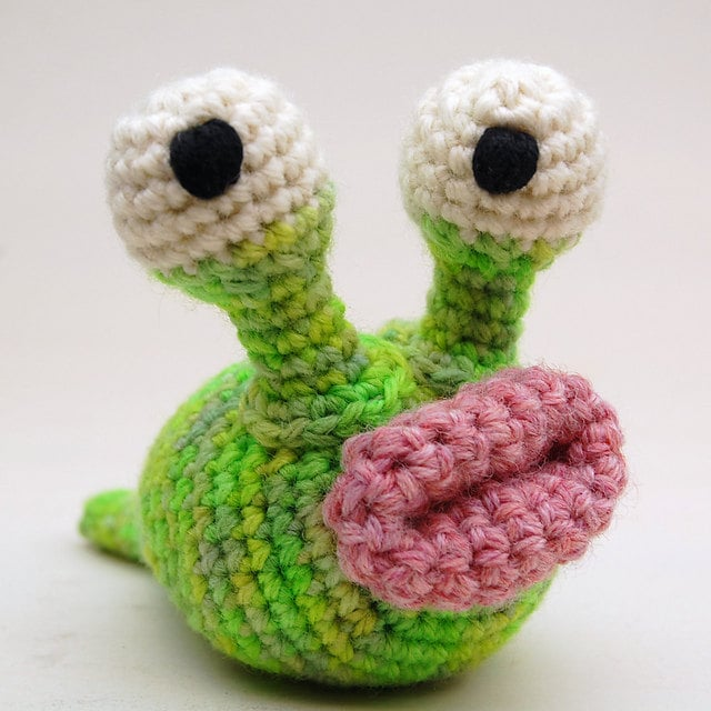 Knitting Pattern For Toy Snail : knit & crochet creatures of the silly sort by cheezombie ...