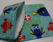 2pc Reusable Sandwich and Snack Bag Finding Dory in Green