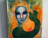 Big Eyed  Mermaid 2 *ORIGINAL