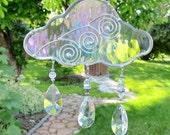 Suncatchers Stained Glass Cloud Suncatcher Prism Suncatchers Hanging Suncatchers Iridescent Home Decor