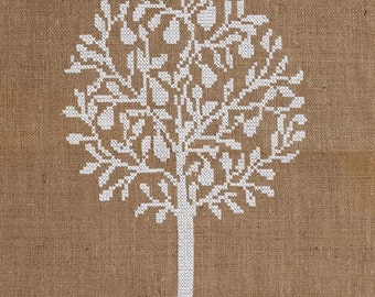 Pattern PEAR TREE - cross stitch,needelpoint,cross stitch patterns,embroidery pattern,swedish cross stitch,scandinavian,diy,Anette Eriksson