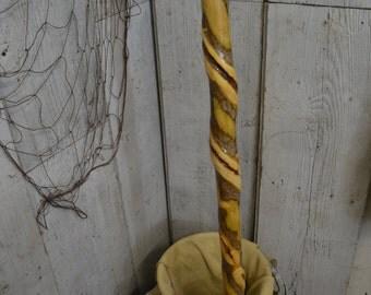 Natural Vine-Twisted Walking Stick, Staff, Hiking Stick 1254